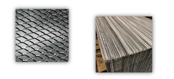 Ribbed Lath and Diamond Lath