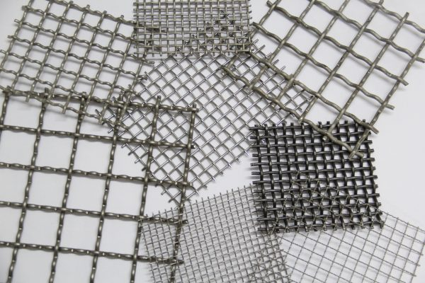 galvanized crimped mesh sheets